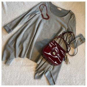 ALTAR'D STATE Gray Tunic Dress Top NWOT